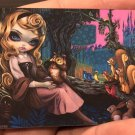 Disney D23 Expo Sleeping Princess Aurora Acrylic Magnet Jasmine Becket-Griffith