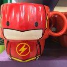Six Flags Magic Mountain Dc Comics Cutie The Flash Stackable Ceramic Mug New