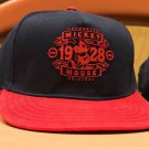 Disney Parks Authentic Mickey Mouse 1928 Original SnapBack Hat Cap New