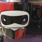 Six Flags Magic Mountain Dc Comics Cutie Harley Quinn Stackable Ceramic Mug New