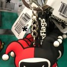 Six Flags Magic Mountain Cuties Harley Quinn Keychain New