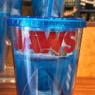 Universal Studios Exclusive JAWS  Travel Tumbler Cup With Straw New