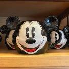 Disney Parks Mickey Mouse Face Ceramic Mug New