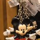 Disney Parks Mickey Mouse Posable Rubber Keychain New**