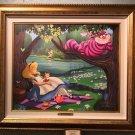Disney Parks Alice in Wonderland Old Friend For Tea LE Giclee Daniel Killen