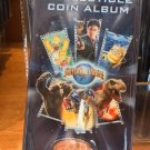 Universal Studios Exclusive Collectible Coin Album New