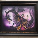 Disney WonderGround Maleficent All The Power LE Giclee on Canvas by John Coulter