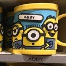 Universal Studios Minions Despicable Me Plastic Mug (Abby)