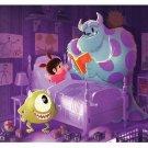 Disney WonderGround Gallery Monsters Inc Sulley & Mike Print Eunjung June Kim