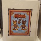 Disney D23 Exclusive Mech Mickey Mouse Steampunk Deluxe Print By Mark Jason Page