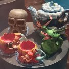 Disney Parks Peter Pan Never Land Mini Tea Set New (Decorative Set)
