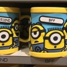 Universal Studios Minions Despicable Me Plastic Mug (BestFriend-Bff)