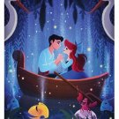 Disney WonderGround Little Mermaid Prince Eric Ariel Print Eunjung June Kim New