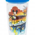 Disney Cruise Line Castaway Tervis Travel Tumbler Mug 16oz New