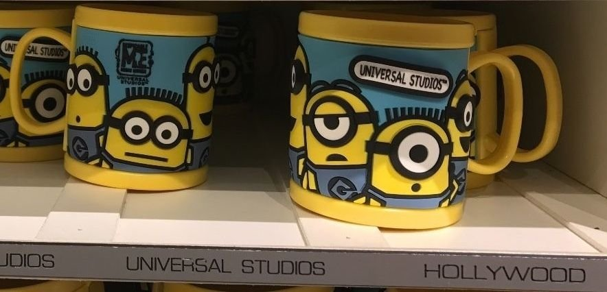 Universal Studios Minions Despicable Me Plastic Mug (UniversalStudios-Hollywood)