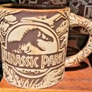Universal Studios Exclusive Jurassic Park Wide Ceramic Mug New