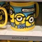 Universal Studios Minions Despicable Me Plastic Mug (Anna-Anthony-Antonio)