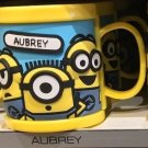 Universal Studios Minions Despicable Me Plastic Mug (Ashely-Aubrey-Agustin)