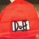 Universal Studios Exclusive The Simpson Duff Beanie Adult Size New