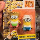 Universal Studios Exclusive Despicable Me3 Minions Tourist Figures New