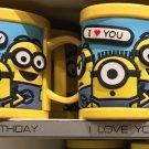 Universal Studios Minions Despicable Me Plastic Mug (Happy Birthday-I Love You)