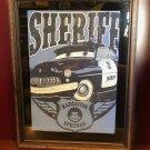 DISNEY PARKS DCA CARS LAND SHERIFF OF RADIATOR SPRINGS MENS SHIRT LARGE NEW