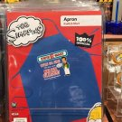 Universal Studios Exclusive The Simpsons Kwik-E-Mart Unisex Apron New
