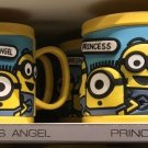 Universal Studios Minions Despicable Me Plastic Mug (Mommy's Angel - Princess)