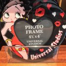 Universal Studios Exclusive Betty Boop Red Acrylic Photo Frame New