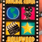 Universal Studios Hollywood Exclusive 4 Square Wood Magnet New**