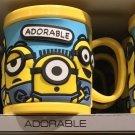 Universal Studios Minions Despicable Me Plastic Mug (0%Angel-Adorable-Awesome)