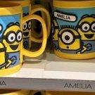 Universal Studios Minions Despicable Me Plastic Mug (Alyssa-Amanda-Amelia-Ana)