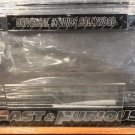 Universal Studios Hollywood Exclusive Fast and the Furious License Plate Frame