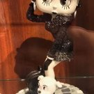 """UNIVERSAL STUDIOS EXCLUSIVE 8"""" BLACK AND WHITE BETTY BOOP RESIN FIGURINE NEW"""