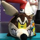 "Six Flags Magic Mountain Looney Tunes Wile E Coyote Large 12"" Tube Plush New"