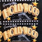 Universal Studios Exclusive Greetings from Hollywood Wood Magnet New