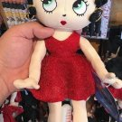 """Universal Studios Exclusive Betty Boop With Red Dress 14"""" Plush Doll New"""