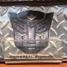Universal Studios Exclusive Transformers The Ride 3-D Metal License Plate Frame