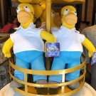 "Universal Studios Exclusive The Simpson Homer Simpson 16"" Plush Doll New"