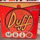 Universal Studios Exclusive The Simpson Duff, Duff Coaster Set of 4 New