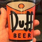 Universal Studios Exclusive The Simpson Duff Beer Glass Cup New