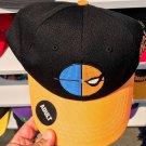 Six Flags Magic Mountain Dc Comics Deathstroke Emoji Black/Orange Hat New*
