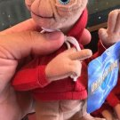 "Universal Studios E.T. Red Hoodie 6"" Magnet Plush Doll"