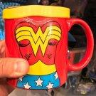 Six Flags Magic Mountain Dc Comics Wonder Woman 3-D Mug with Cape New