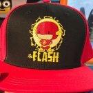 Six Flags Magic Mountain Dc Comics The Flash Emoji Snapback Hat Cap New