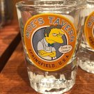 Universal Studios Exclusive The Simpson Moe's Tavern Drink Up Chumps Shot Glass