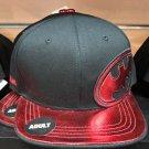 Six Flags Magic Mountain Dc Comics Batman Black / Maroon Snapback Hat New*