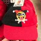 Six Flags Magic Mountain Dc Comics Harley Quinn Emoji Adjustable Hat Cap New