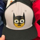 Six Flags Magic Mountain Dc Comics Batman Emoji Adjustable Hat Cap New