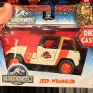 Universal Studios Exclusive Jurassic World Jeep Wrangler Die Cast Vehicle New